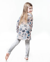 Round and round tunic & Ink of miracles leggings