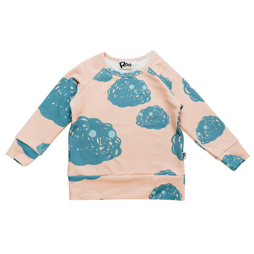 Morko sweat shirt, peach