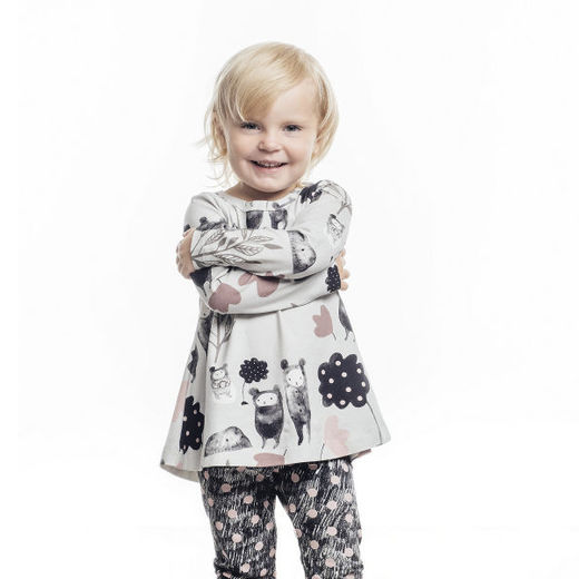 The tale of three bears and a cup of tea tunic & Droplets leggings